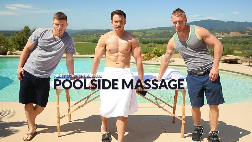 Poolside Massage XXX Video Stomach pain after orgasm