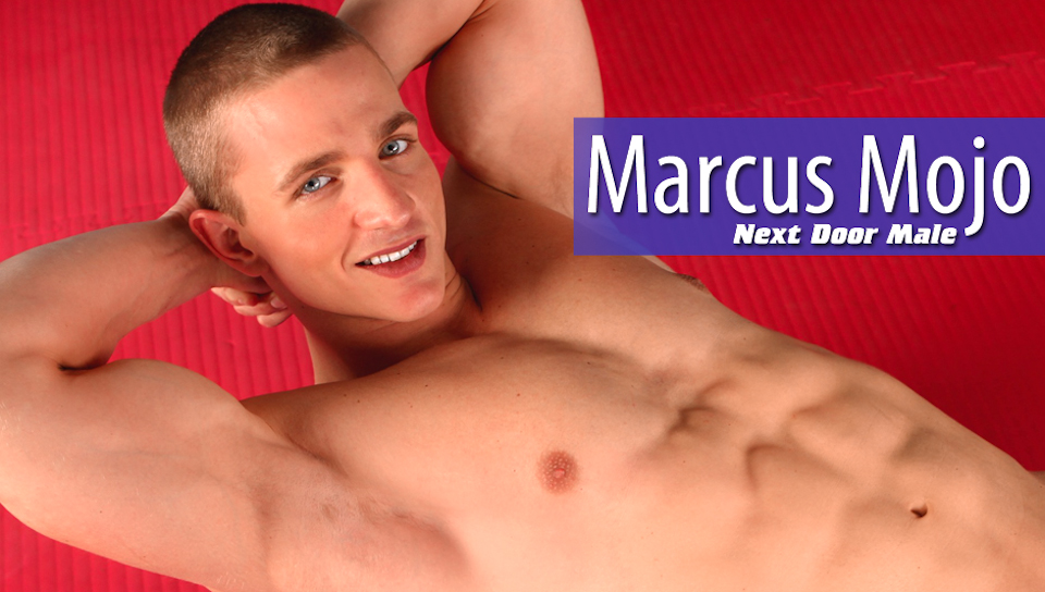 Marcus Mojo in Next Door Male XXX Video naughty lingerie plus size