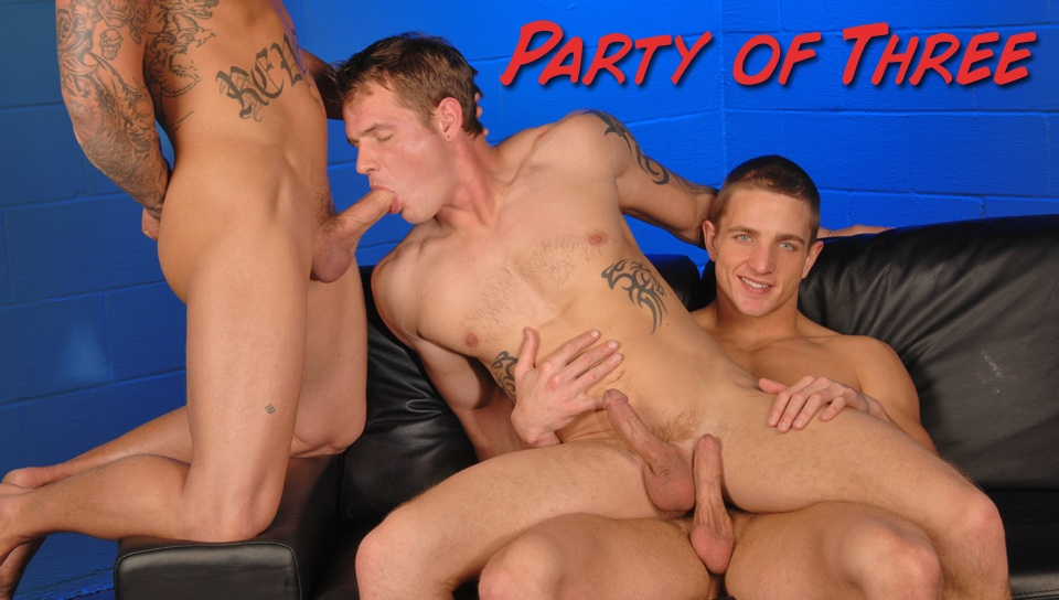 Marcus Mojo & Sebastian Young & Trent Diesel in Party Of Three XXX Video Hot milf handjobs xvideos