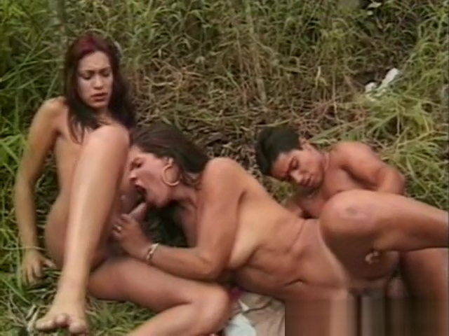 Amanda Paula - Threesome In The Forest