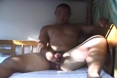 japanese young bear Amateur bald head blowjob