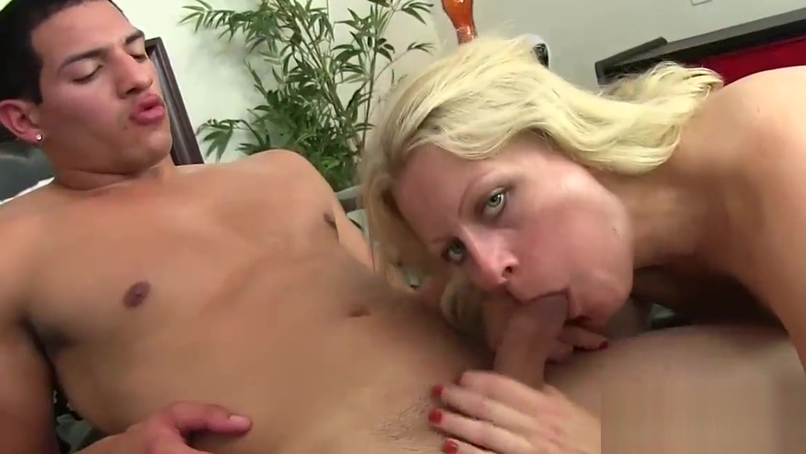 Blonde Milf With Natural Boobs Fucked Hard