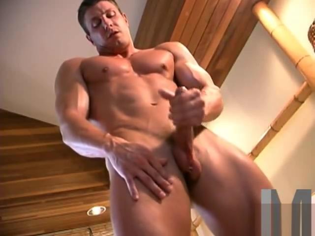 Muscled Man Scott Strode Elaina Raye
