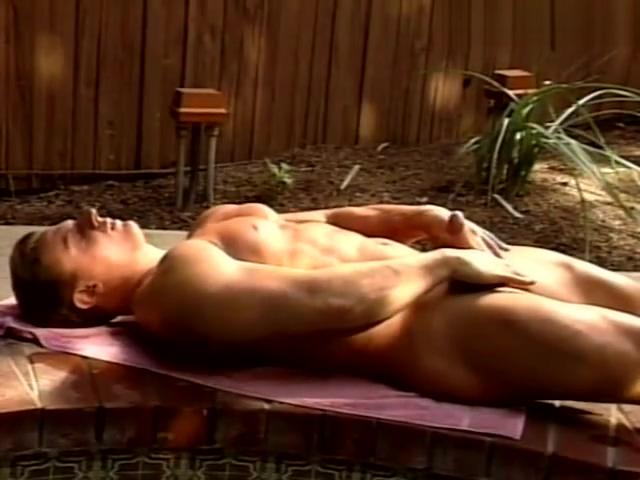 Bodybuilder Scott Randsome Poolside Cum Catalina cruz softcore video