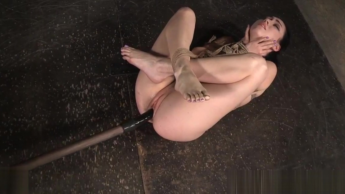 Spanked submissive punished by black master