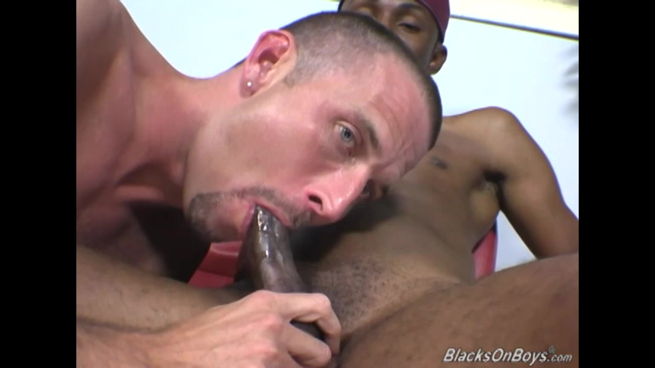 A white dude getting introduced to interracial gay sex collage sex party video