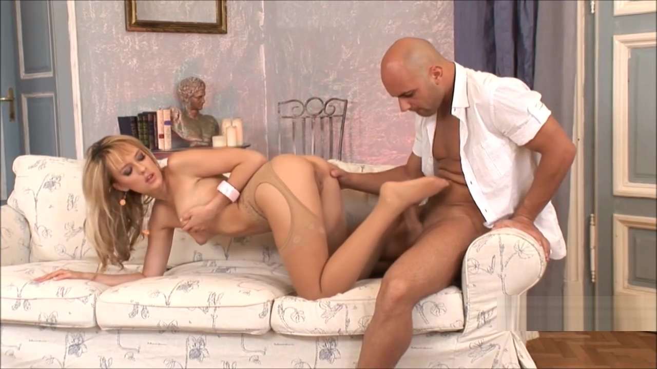 footjob with nylon pantyhose feet Hot feet sex pics