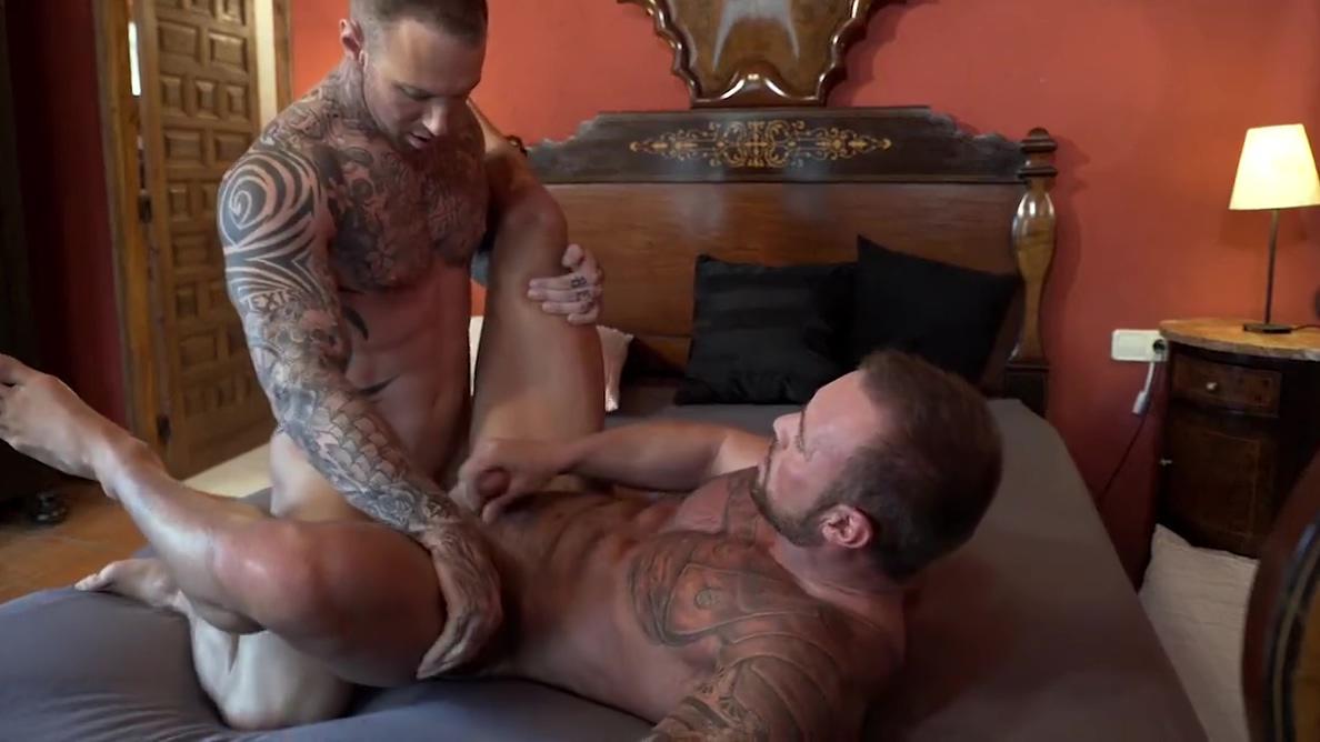 BB - Dylan James Michael Roman Flip-Fuck Female dominant porn gif