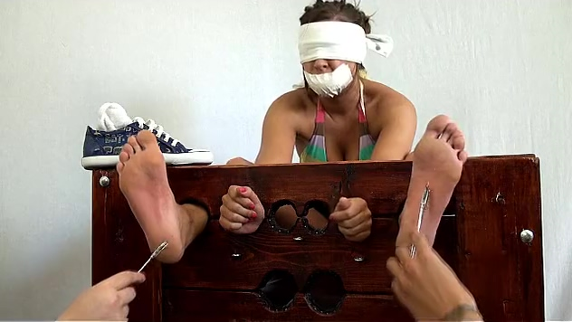 Gagged for Foot Tickle Torture