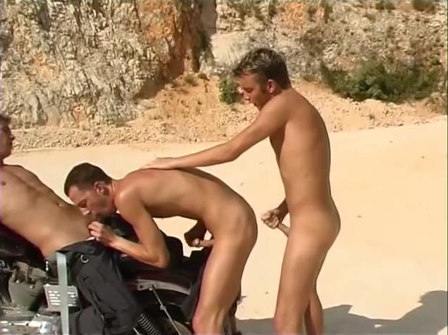Hard Cock At The Quarry Rock - Foerster Media Cum lover nudist park