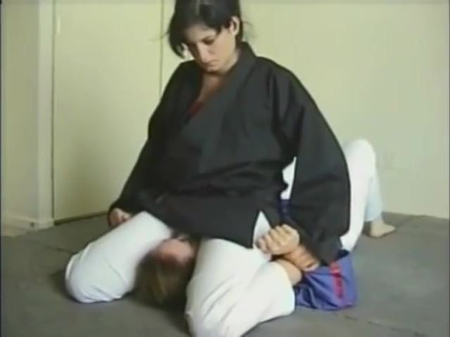 Face sitting in judo
