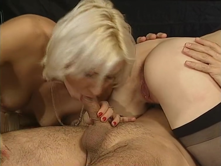 Two blonds want his cum - DBM Video These lesbos had a party