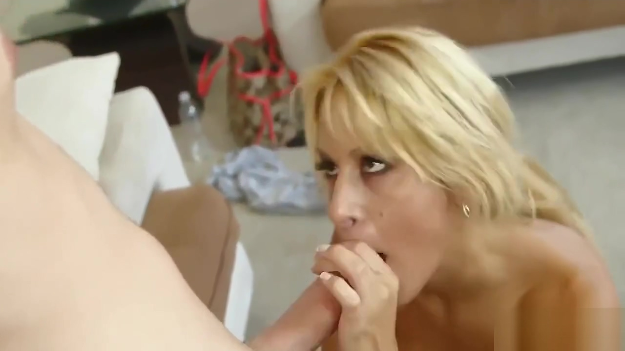 Cougar likes to suck Gay interracial slaves