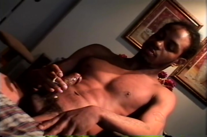 Two black guys jacking off husband wife black cock