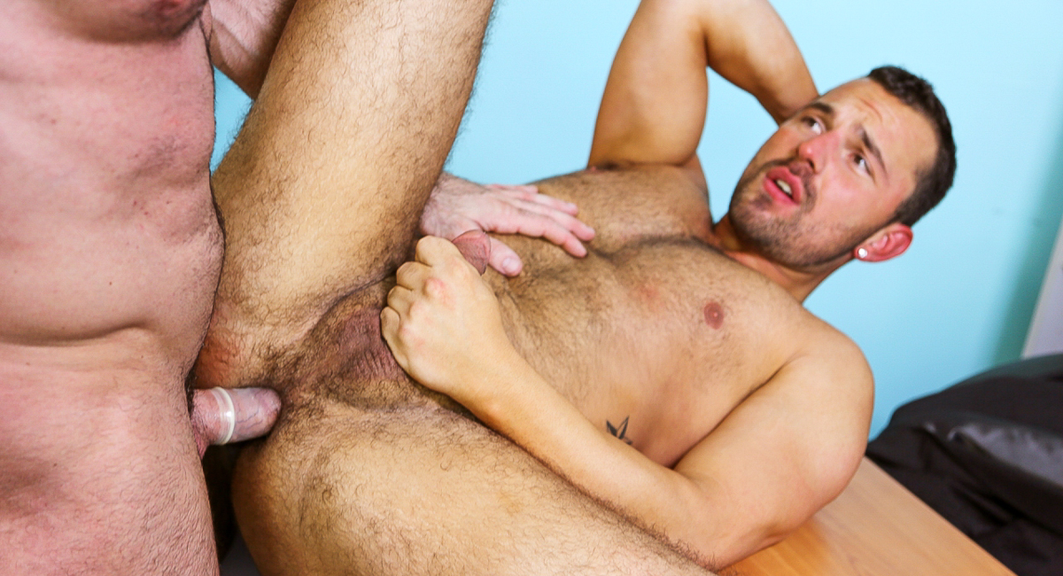 Jake Morgan & Billy Santoro in Performance Review Part 1 Video Hottest outdoor catepillar pussy eating