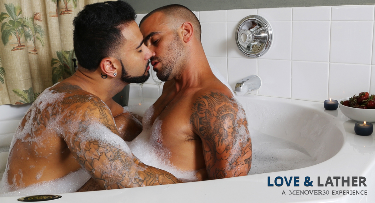 Rikk York & Damien Crosse in Love & Lather Video God of war 3 playstation plus