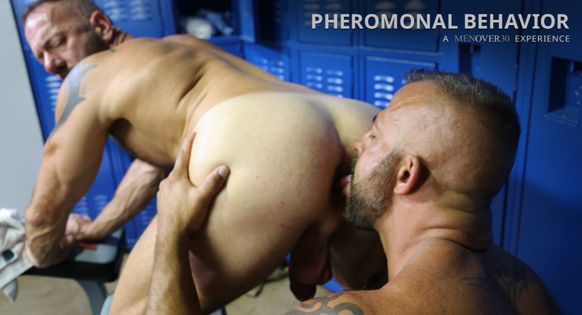 Vic Rocco & Jon Galt in Pheromonal Behavior Video Lesbian who love golden showers