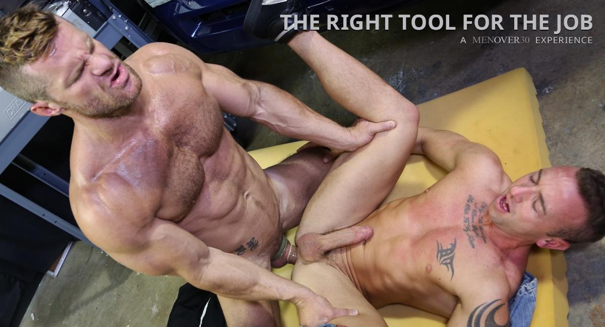 Landon Conrad & Matt Hart in The Right Tool For The Job Video Sex co m