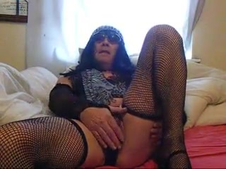 crossdresser playing with my vid Naked sluts with cum on them