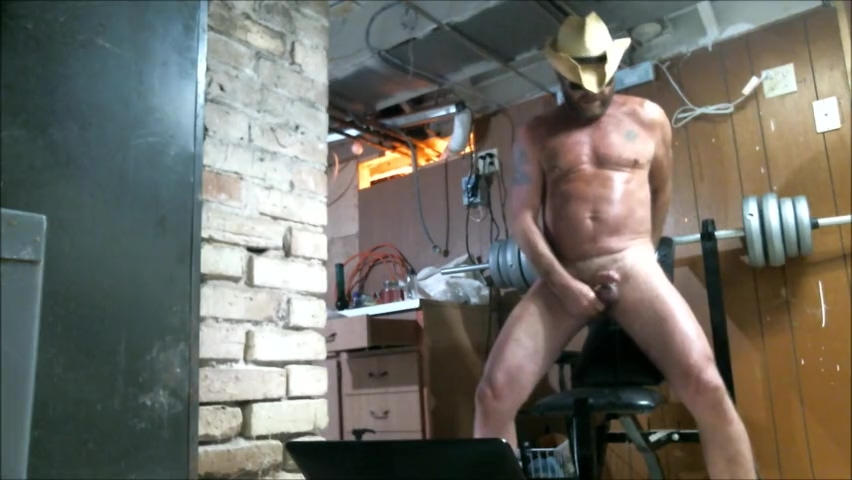 Cowboy Daddy rides some big toys Lizzy lovers