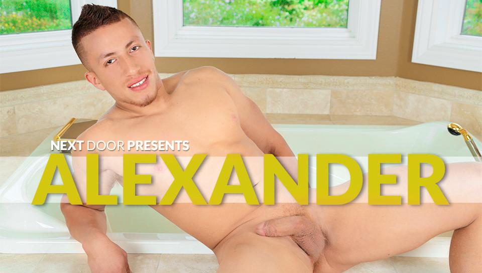 NextdoorMale - Alexander XXX Video guy masturbating to girl