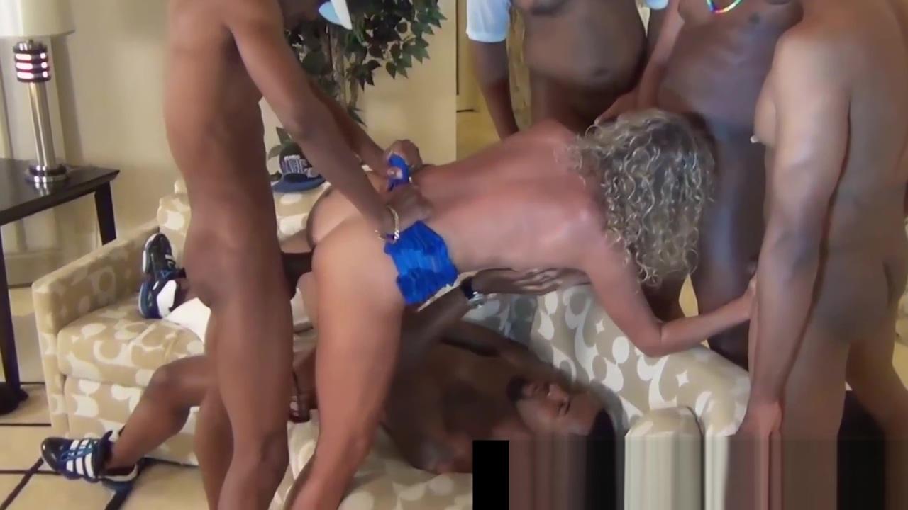 Black Gang Bang! Rome Major &amp_ 3 Bros Fuck White Jade Jamison kathleen turner xxx clips free