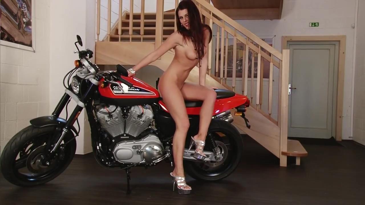 Sexy Biker Chick! - Julia Reaves