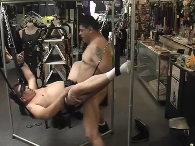 Fat Latino Bears Love Bondage - Pig Daddy Productions Shower curtain kinky pussy