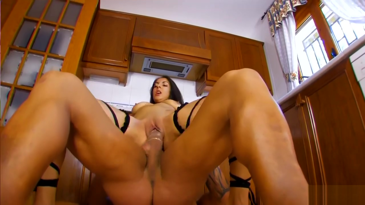 Isabelle and Rob get hot in the kitchen - Kemaco Studio Free sex cumshot swallow