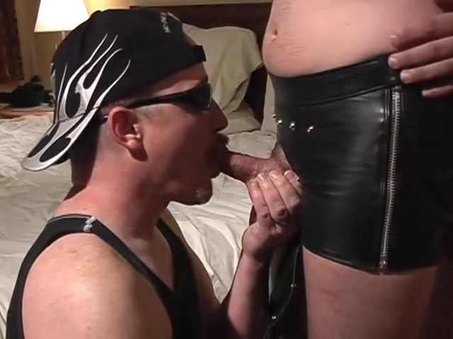 Leather Flavoured Cock Sucking - Pig Daddy Productions Ebony anal xxx videos