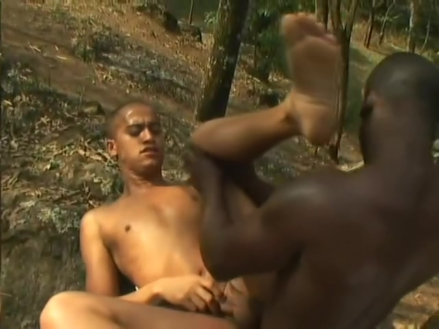 In The Jungle Where No One Can See Us - The French Connection girl fingers own ass