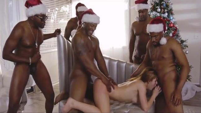 Comely Leah Gotti having a good interracial fucking Sexy boy birthday