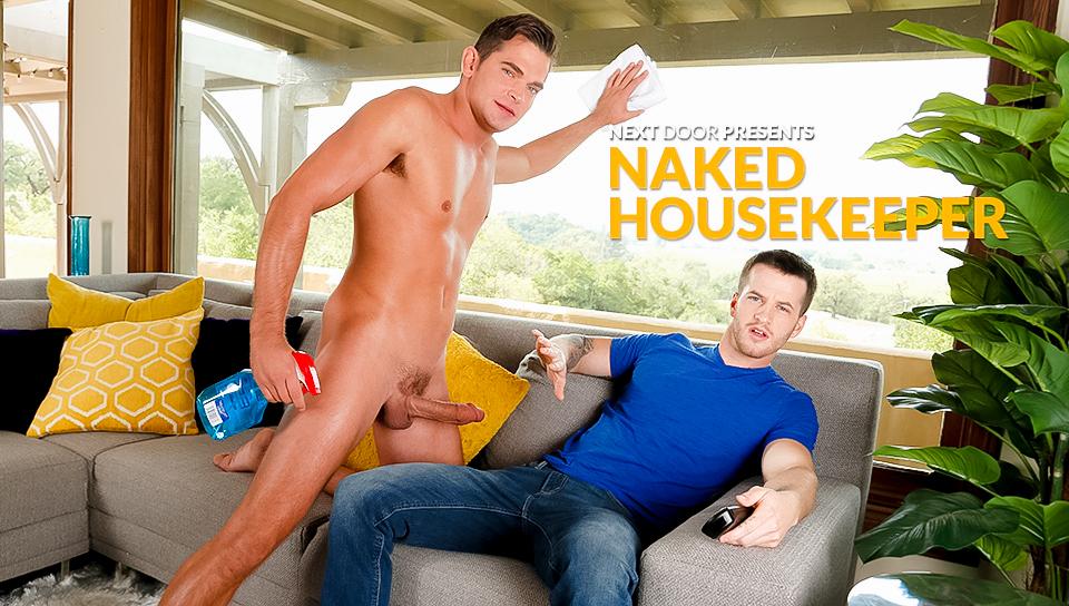 Luke Milan & Quentin Gainz in Naked Housekeeper XXX Video Big boobs hot japanese teen seduce video hd