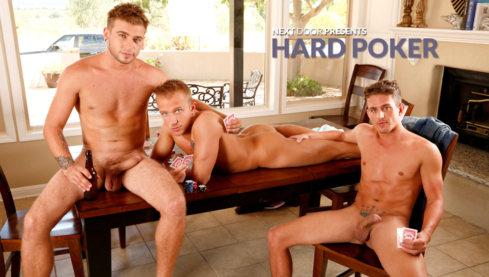 Rob Ryder & Alexander Gustavo & Alex Greene in Hard Poker XXX Video Men and women having sex porn