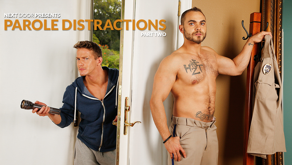 Brock Avery & Darius Ferdynand in Parole Distractions Part Two XXX Video Indian mother son pussy nude