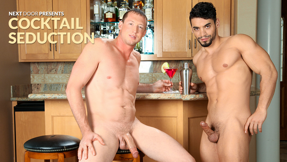 Arad & Pierce Hartman in Cocktail Seduction XXX Video Kissnastya