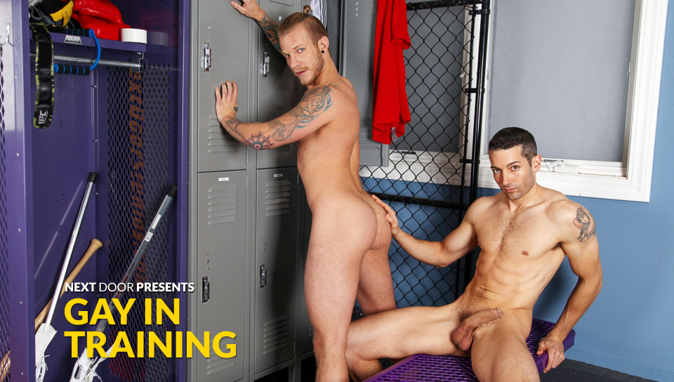 Silas OHara & Jaxon Colt in Gay in Training XXX Video Hot sex scenes for adults