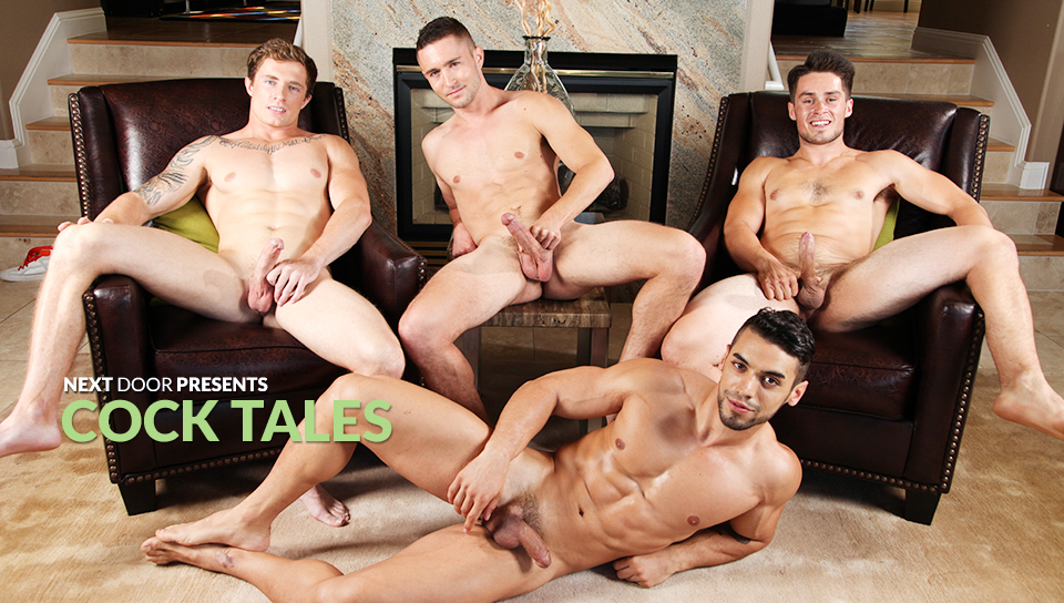 Markie More & Colt Rivers & Arad & Jordan Evans in Cock Tales XXX Video Washing machine handjob