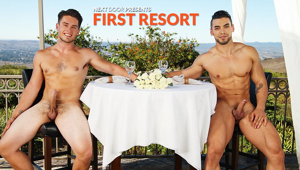 Arad & Jordan Evans in First Resort XXX Video Lesbian chatlines in arizonia