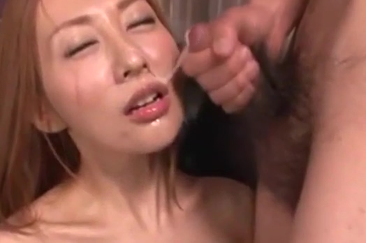 Japanese girls piss and facial cum
