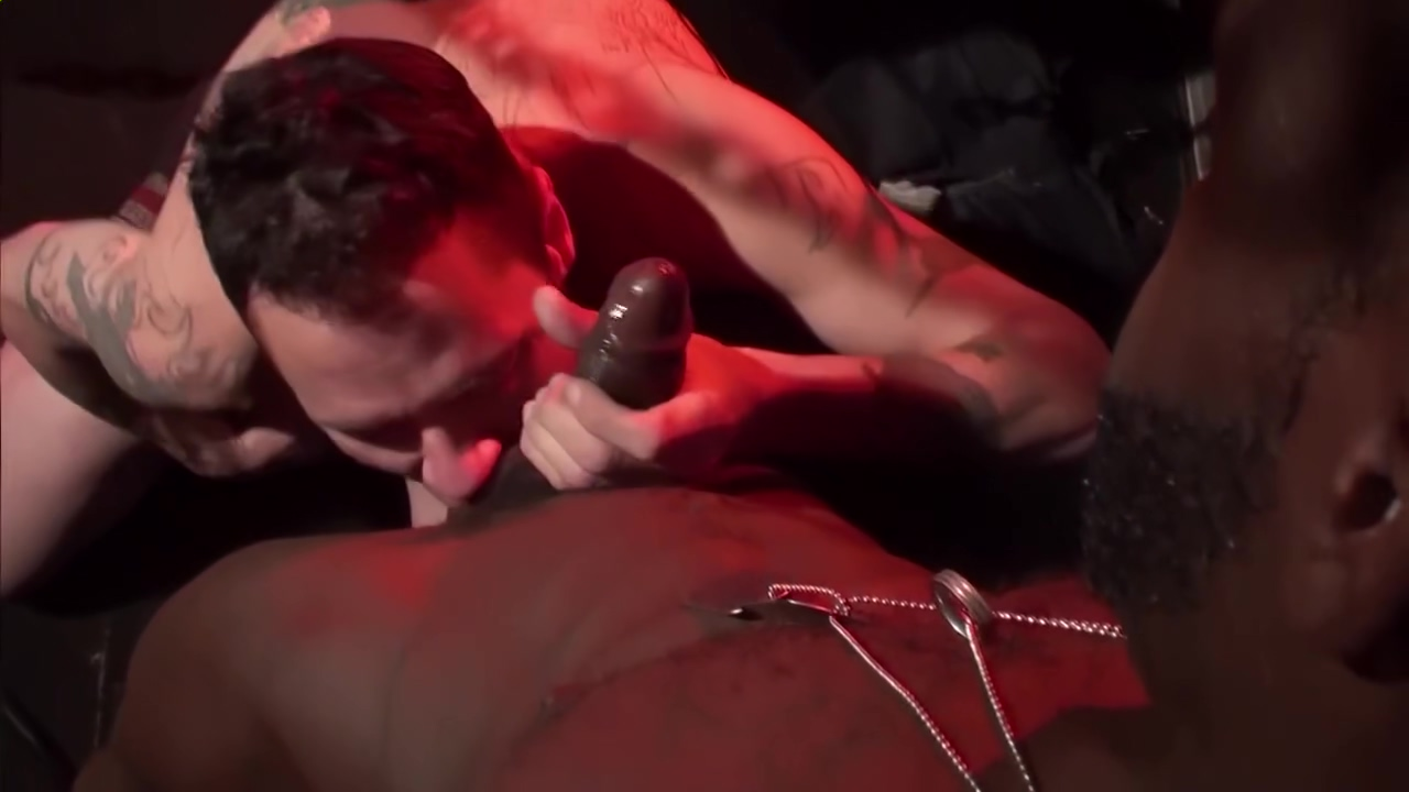 Interracial banging in the gay dungeon - Factory Video Swimming pool sex