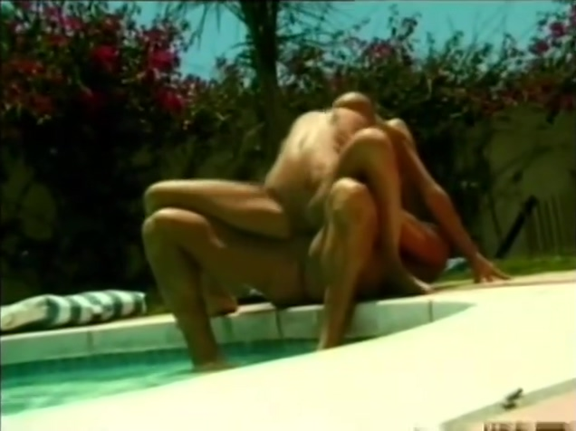 Babe Is Railed By Guy By The Pool - Acid Rain Free big fat gay cock