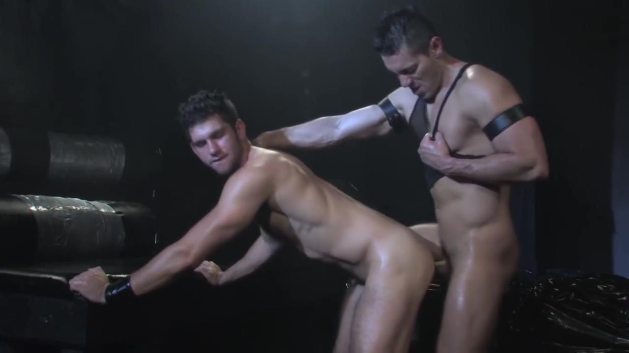 Dicks & leather - Raging Stallion Big fatties with huge massive tits