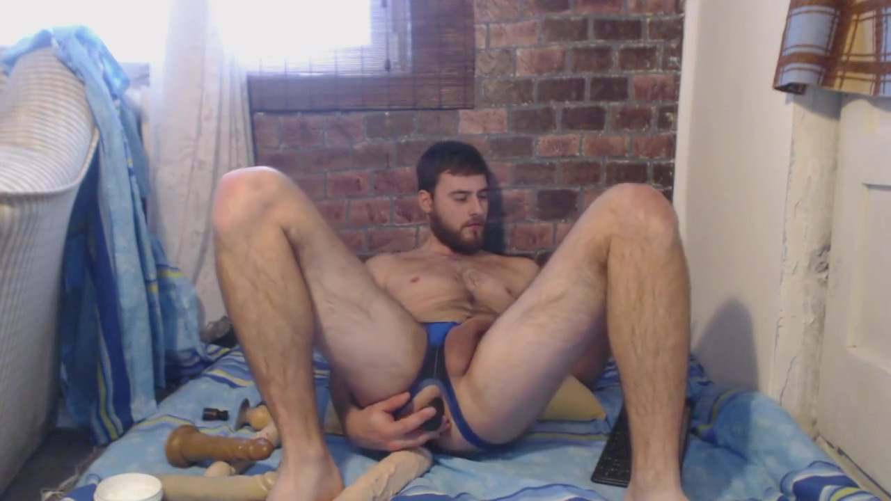 Cute bearded guy playing with dildoes Most Creampie Tears Up Chubby