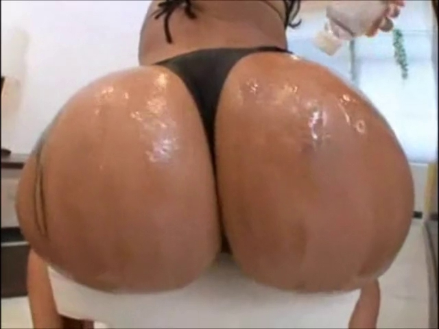 Large Oily Brazilian Butt - Derty24 Monica fucked up her fat ass