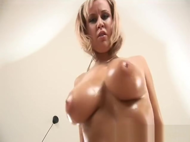 big natural boobs alone at home