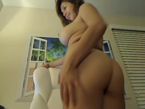 Busty brunette bitch with big boobs Fat guy skinny chick sex