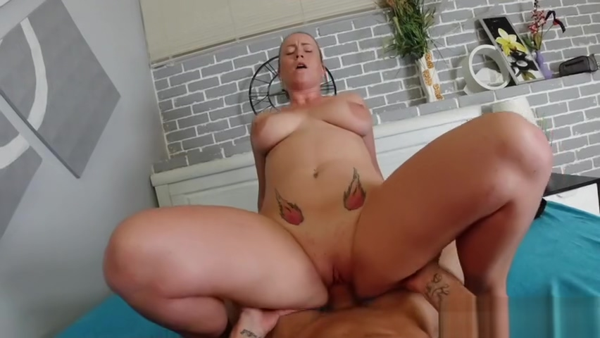 CHUBBY GIRL GETS SEXED UP IN POV SCENE Big tits tight bra