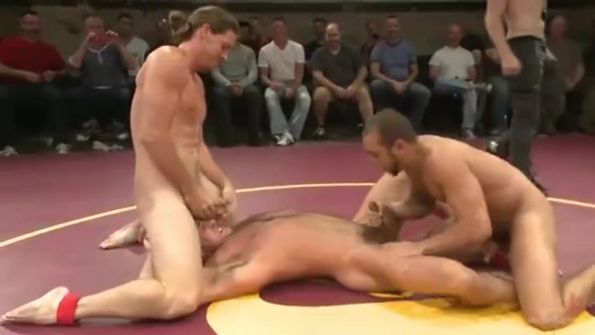 Nick and Jessie vs Kip and Brock (Tag Team) - Wrestle & Fuck Milf Lesbian Mom