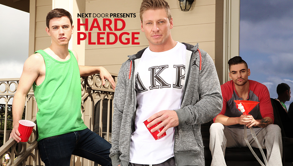 Johnny Torque & Cole Christiansen & Zach Taylor in Hard Pledge XXX Video lupe fuentes anal hd
